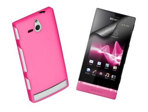 Sony - Juego de Accesorios Xperia U, Incluye Carcasa y 2 Protectores...