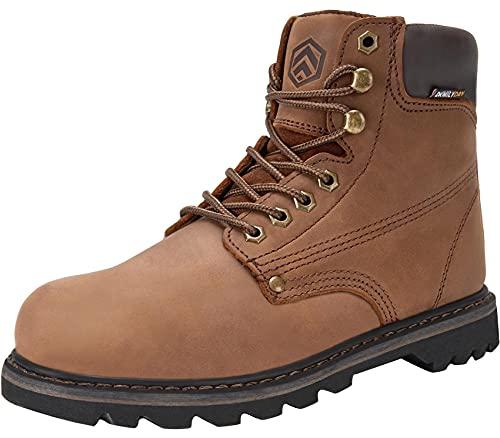DURA-ANTISKID Botas de Seguridad Punta Suave Hombre Zapatillas de Seguridad Impermeable Calzado de Seguridad