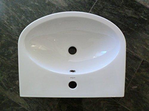 Domino Keramik Waschbecken Weiss 50 Cm 656317