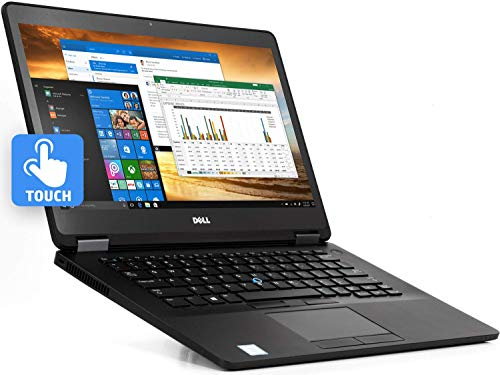 Dell Latitude E7470 Ultrabook Laptop 14' Touchscreen Notebook Intel Core i5-6300U 2.40GHz Webcam 8GB Ram 256GB SSD Windows 10 Professional (Renewed)