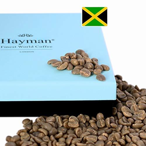 100% Blue Mountain Kaffee aus Jamaika - Grüne Kaffeebohnen - Einer der besten Kaffees der Welt, frisch von der letzten Ernte! (Schachtel mit 200g/7oz)