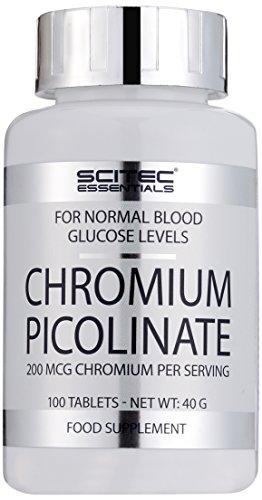 Scitec Nutrition Vitamin Chromium Picolinate, 100 Kapseln, 1er Pack (1 x 40g)