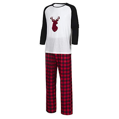 Challeng Freiheit Familie Passende Pjs für Weihnachten Hohe Qualität Frauen Baby Deer Tops Hosen Pyjamas Nachtwäsche