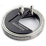 GARY&GHOST Compas Coupe-Cercle Réglable Couteau Découpe Papier Circulaire Circle Cutter Découpeur Diamètre 0.5-50mm...