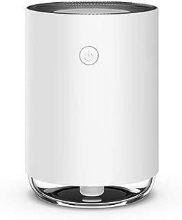 CHUANGMENG-UK Humidifier Mini Colorful Light moisturizing air Purifier humidifier USB Mass Charge (Color : White)