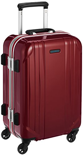 [ワールドトラベラー] スーツケース サグレス ストッパー付 機内持ち込み可 31L 48 cm 3.5kg レッド