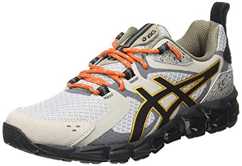 Asics Gel-Quantum 180, Running Shoe Hombre, Oyster Grey/Black, 40.5 EU