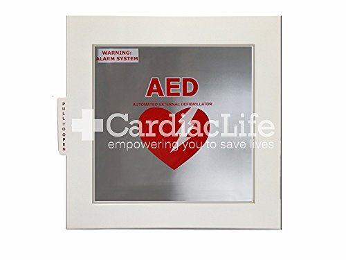AED Cabinet for ALL AEDs with AED Signs