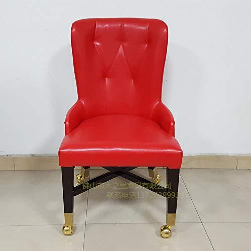 Koreaanse houten frame stoel met draaibare stoelen rolstoel VIP