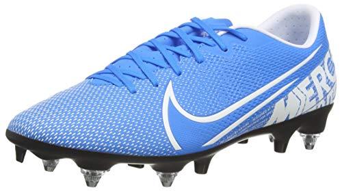 Nike Unisex-Erwachsene Vapor 13 Academy Sg-pro Ac Fußballschuhe, Mehrfarbig (Blue Hero/White-Obsidian 414), 43 EU