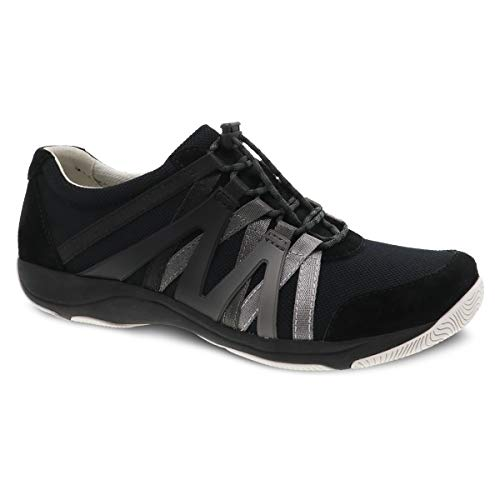 Dansko Women's Henriette Black Comfort Sneaker 9.5-10 M US