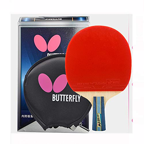 SSHHI 5-Star Table Tennis Bats,Ping Pong Paddle Set,The Best Choice for Amateur,Durable/As Shown/Short Handle