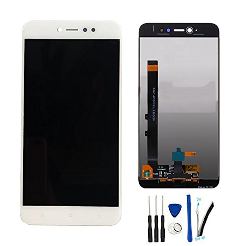 SOMEFUN Pantalla LCD Repuestos Compatible con Xiaomi Redmi Note 5A / Redmi Note 5A Pro/Prime Global Version(3GB RAM) LCD Pantalla Táctil Digitalizador Asamblea de Vidrio (Blanco)
