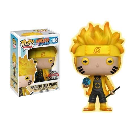 Naruto Shippuden - Naruto (Six Path) (GITD) POP Figure #186 Special Edition Exclusive