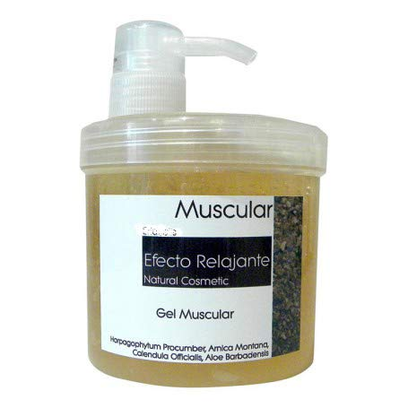 Bifemme Gel Muscular para Masajes con Efecto Relajante, 500 ml