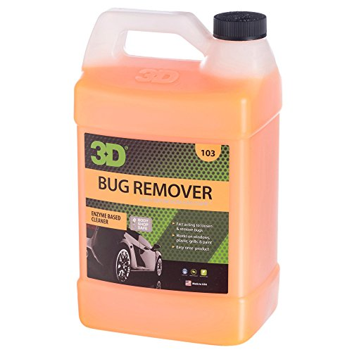 3D Bug Remover Concentrate - 1 Gallon | Enzyme Based Cleaner |...