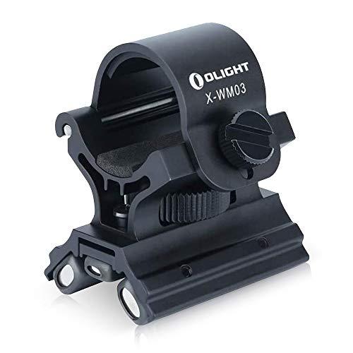 Olight XW 03 - Soporte Magnético para Linternas de 23 mm a 26 mm de Diámetro, Soporte Duradero, Flexible y Multifuncional