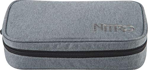 Nitro - Trousse Mixte Adulte XL ́16 Sac à Dos, Adulte - Mixte, 1161-878043, Black Noise, 22 x 10 x 6,5cm