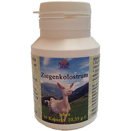 Kolostrum Ziegenkolostrum Biestmilch Erstmilch der Ziege 5er Pack (5 x 30 Kapseln) - 50,4 Prozent IgG - Natürliches Nahrungsergänzungsmittel mit Proteine Vitamine Aminosäuren