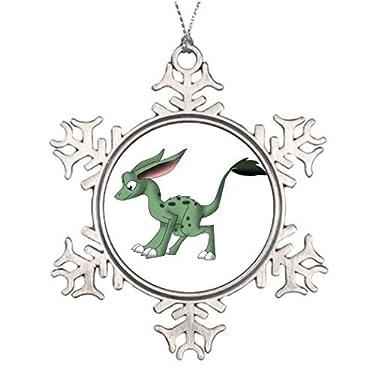 VinMea Metal Snowflake Christmas Ornament Ideas for Decorating Christmas Trees Undefined Creature Xmas Tree Decoration