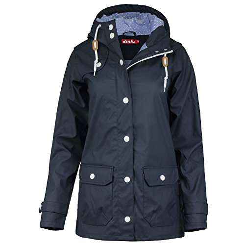 derbe Peninsula Dots Regenjacke Damen - 34