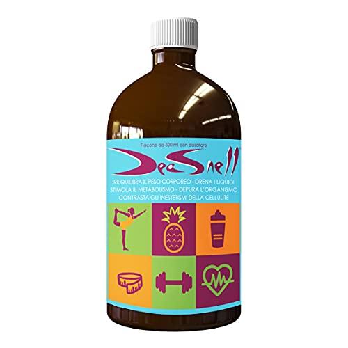 Deasnell 500 ml - Reequilibra el peso corporal - Drena los líquidos - Estimula el metabolismo