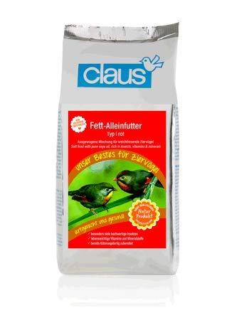 Claus Fett-Alleinfutter rot (TYP I) 1.000 g