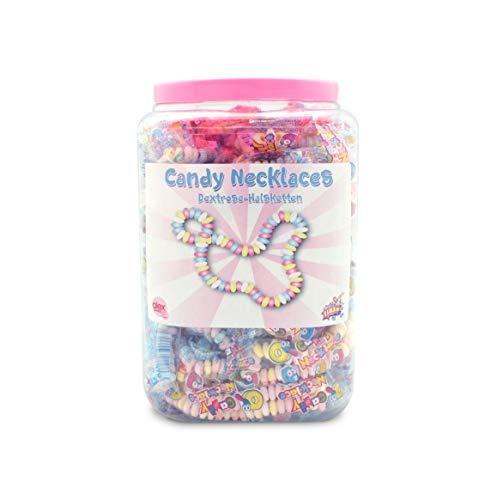 Süße Ketten Candy Necklace einzeln verpackt 60 Stück Kindergeburtstag Süßigkeiten