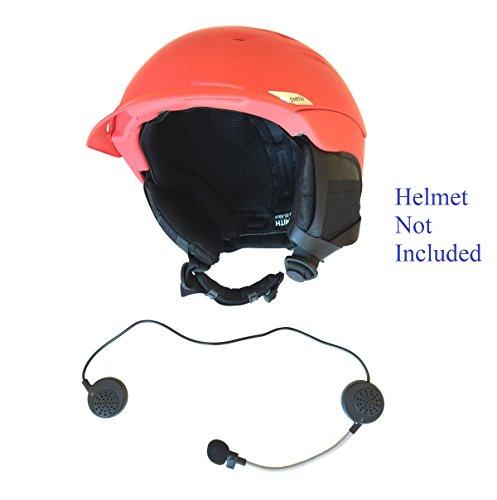 KOKKIA Bluetooth helm oortelefoon: Bluetooth stereo muziek en spraakherkenning. Inkomende oproepen met 'Hallo' beantwoorden. Ideaal voor Bluetooth iPhones/iPads/iPods/smartphones, enz.