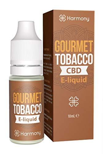 Harmony E-líquido CBD más 99% pureza - Gourmet Tobacco
