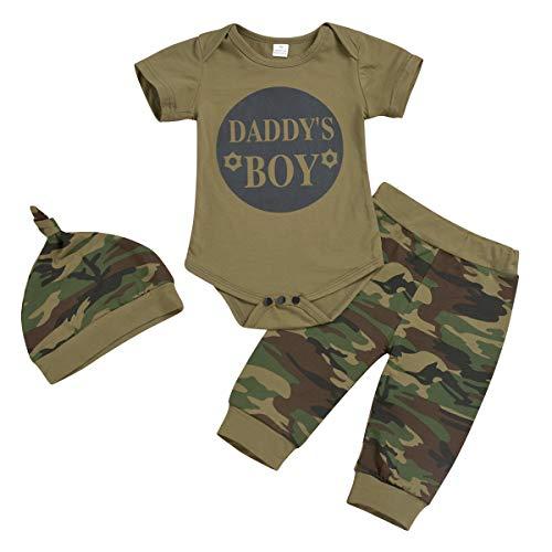 Jurebecia 3pcs Niños Bebes Set de Ropa Daddy