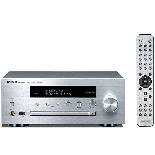 ヤマハ ネットワーク CDレシーバー AirPlay/MusicCast 対応 Wi-Fi内蔵 シルバー CRX-N470(S)