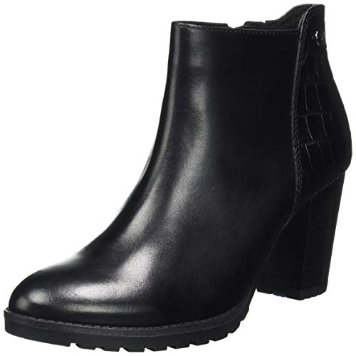 CAPRICE Damen 9-9-25434-25 019 Stiefelette, Black Comb, 38 EU