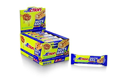 ProAction Nuts Bar (miele, confezione da 30 barrette da 30 g)