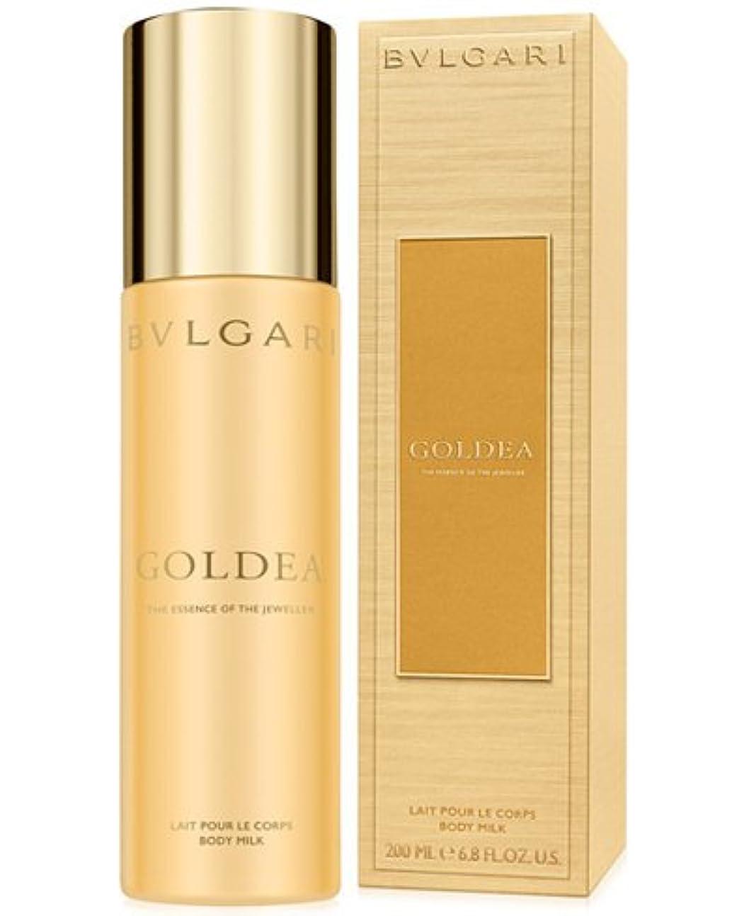 質素なホイットニー厳密にBvlgari Goldea (ブルガリ ゴルディア) 6.7 oz (100ml) Body Milk (ボディーミルク) by Bvlgari for Women