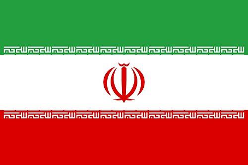 magFlags Bandera XXXL Irán | Bandera Paisaje | 6m² | 200x300cm