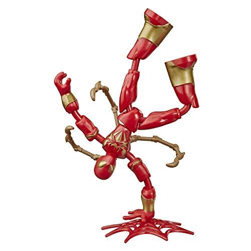 Spider-Man Iron Bend and Flex (Action-Figur, flexibel, 15 cm)