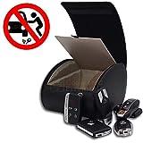 Connected Essentials RFID Autoschlüssel Keyless Go Schutz Box der Fahrzeugschlüssel, Faraday Bag Schlüsseltasche