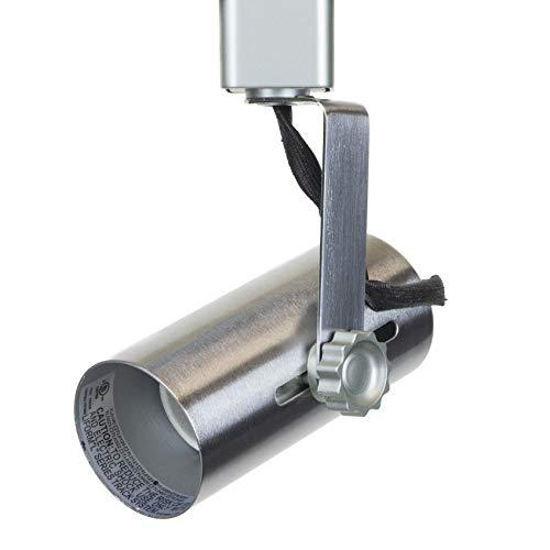 Direct-Lighting 50007 Brushed Steel Universal Line Voltage Track Lighting Head