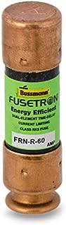 Bussmann Fusetron FRN-R-60 Dual Element Time Delay Fuse 60A 250V Lot of 10