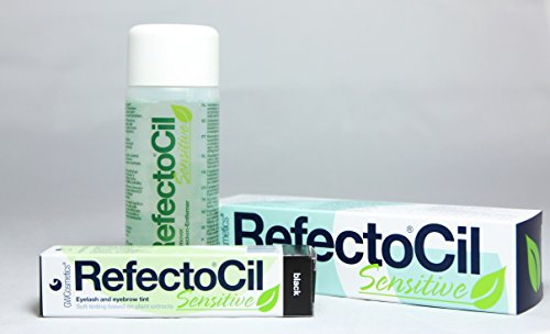 Refectocil Sensitive 3 Stück Set - Schwarz