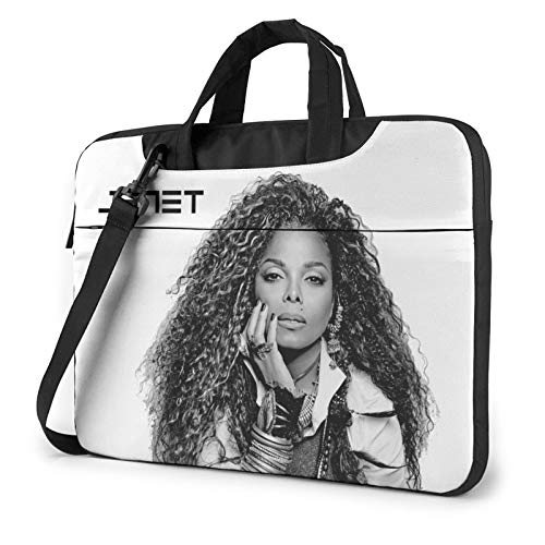 DFHDFH Janet Jackson Laptop Bag Laptop Sleeve Case with Shoulder Straps & Handle/Notebook Computer Case Briefcase Compatible 15.6 inch