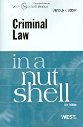Picture of Criminal Law in a Nut Shell, a criminal law supplement