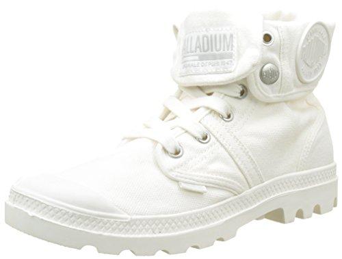 Palladium Damen Pallabrousse Baggy Hohe Sneaker, Weiß (Marshmallow/Marshmallow G57), 39 EU