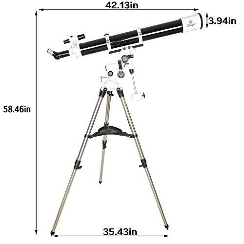 Gskyer EQ 80900 Telescope, German Technology Telescope,Starwatcher Refractors