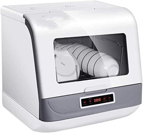 Lavavajillas portátil con descontaminación total de 360 ℃, filtro antibacteriano extraíble y lavable, para casa, oficina, cocina