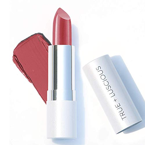 True + Luscious Super Moisture Lipstick - Vegan and Cruelty Free, Non Toxic Formula - 0.12oz, Shade:...