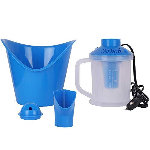 Asbob ® AH-01 3 In 1 Extra Steam Vaporizer, Nose and Cough Steamer, Nozzle Inhaler and Vaporiser for Steam Inhalation (Blue)