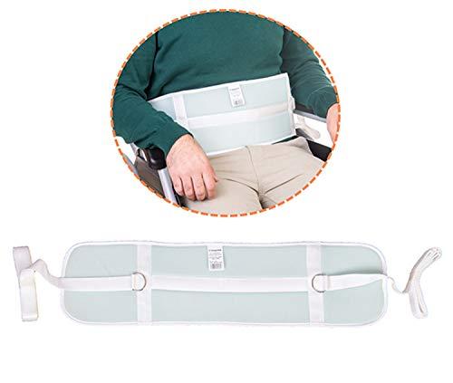 OrtoPrime Cinturón de Seguridad para Camas de 90 cm y Sillas de Ruedas - Arnés de Seguridad Ortopédico Universal - Cinturón para Camas - Cinturón Abdominal Ajustable - Arnés de protección