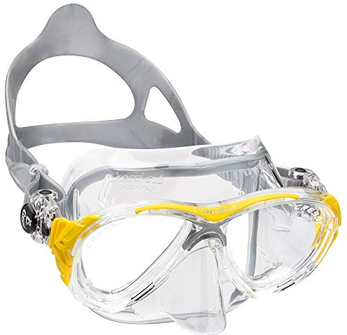 CRESSI Tauchmaske Eyes Evolution Crystal, gelb, medium